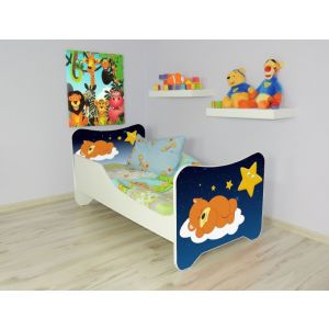 Peuterbed Top Beds Happy 140x70 Sleeping Teddy Inclusief Matras