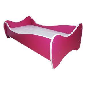 Peuterbed Top Beds Midi Color 70x140 Fuchsia Inclusief Matras
