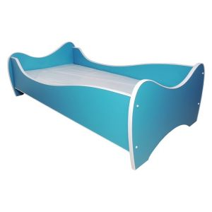 Peuterbed Top Beds Midi Color 70x140 Turquoise Inclusief Matras