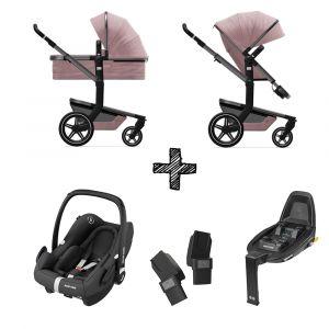 Kinderwagen Joolz Day+ Premium Pink met Autostoel & Base