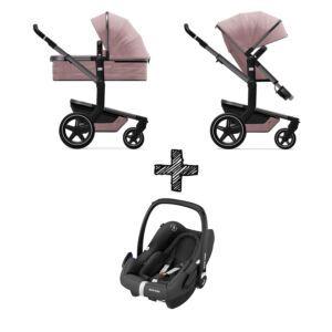 Kinderwagen Joolz Day+ Premium Pink met Autostoel