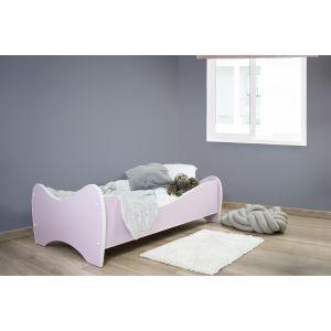 Kleuterbed Top Beds Midi Color 160x80 Pastel Lichtroze Incl. Matras Sfeer