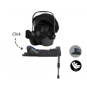Set | Autostoel Nuna Pipa Icon I-Size Caviar + Pipafix Base Nuna i-Size