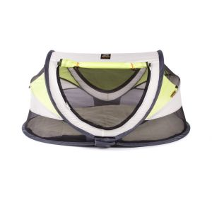 Travel-cot Deryan Baby Luxe Cream/Lime