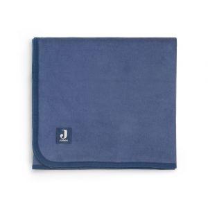 Deken Wieg Jollein 75x100 Katoen Jeans Blue