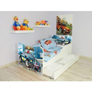 Kleuterbed Top Beds Happy 160x80 Politie Incl. Matras + Bedlade
