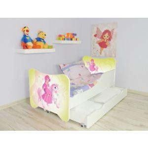 Kleuterbed Top Beds Happy 160x80 Pony Incl. Matras + Bedlade