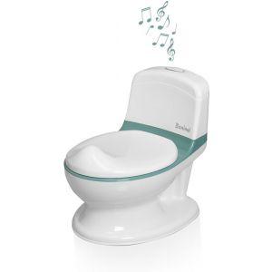 Toilet Potje met geluid Baninni Pippe Green