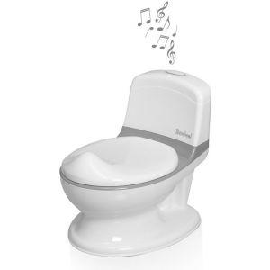 Toilet Potje met geluid Baninni Pippe Grey