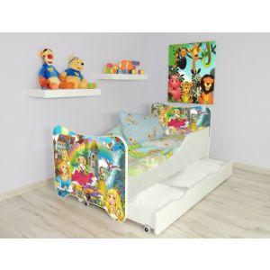 Kleuterbed Top Beds Happy 160x80 Princess Incl. Matras + Bedlade
