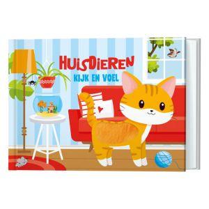 Kijk en Voel - Huisdieren De Lantaarn Publishers