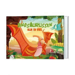 Kijk en Voel - Dinosaurussen De Lantaarn Publisher