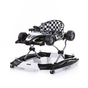 Loopstoel Chipolino 4-In-1 Racer Black/White