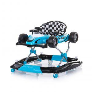 Loopstoel Chipolino 4-In-1 Racer Blue
