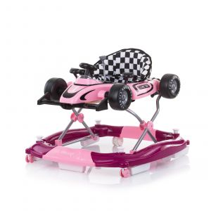 Loopstoel Chipolino 4-In-1 Racer Pink