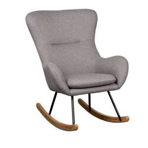 Schommelstoel Quax Rocking Chair Basic Dark Grey