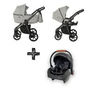 Kinderwagen Quax Country Crystal + autostoel