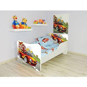 Kleuterbed Top Beds Happy 160x80 Racewagen Incl. Matras + Bedlade