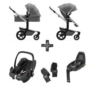 Kinderwagen Joolz Day+ Radiant Grey met Autostoel & Base