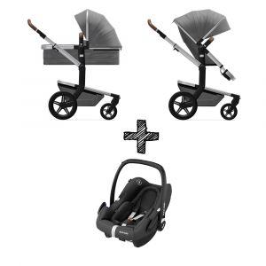 Kinderwagen Joolz Day+ Radiant Grey met Autostoel