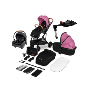 Kinderwagen 4-in-1 Lionelo Riya Pink Violet