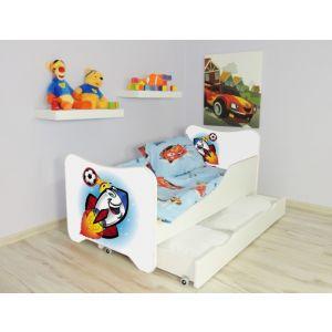 Kleuterbed Top Beds Happy 160x80 Raket Incl. Matras + Bedlade