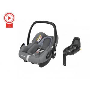 Autostoel Maxi Cosi Rock Essential Grey + Base FamilyFix2
