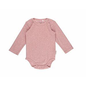 Romper Little Dutch Lange Mouw Melange Pink