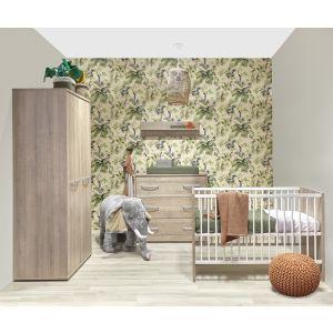 Babykamer Ruben 2-deurskast
