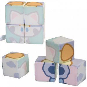 Stoffen Blokken Puzzel Woezel En Pip