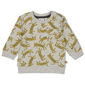 Sweater Feetje FECJA21 Go Wild Grijs Melange