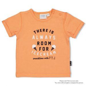 Shirt Feetje FECJA21 Always Team Icecream Neon Oranje