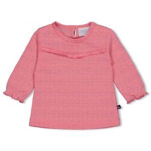 Shirt Feetje FECJA21 Longsleeve All-over Seaside Kisses Roze