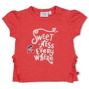 Shirt Feetje FECJA21 Everywhere Cherry Sweetness Rood