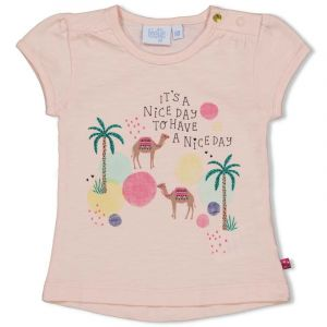 Shirt Feetje FECME21 Nice Day Little Thing Called Love Perzik