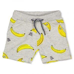 Short Feetje FECME21 Playground All-Over Bananas Grijs Melange