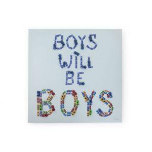 Schilderij Childhome Boys & Cars