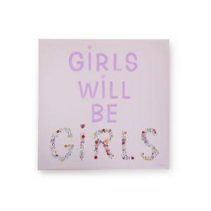Schilderij Childhome Girls & Buttons