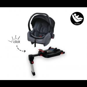 SET | Autostoel Titaniumbaby 5920.25 Scope Black + Isofixbase