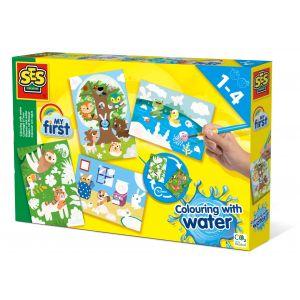Kleuren Met Water SES Creative My First Verborgen Dieren