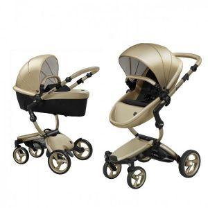 Kinderwagen Mima Xari Champagne + Autostoel