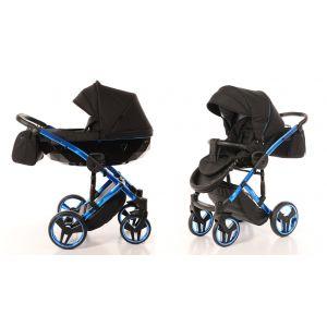 Kinderwagen Junama Individual 02 Black / Blue Frame