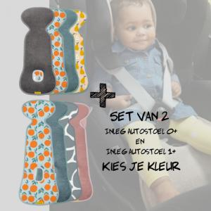 SET | Aeromoov Inleg Autostoel 0+ & Autostoel 1+