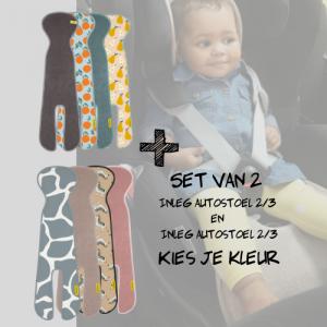 SET   Aeromoov Inleg Autostoel 2/3 & Autostoel 2/3