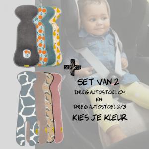 SET | Aeromoov Inleg Autostoel 0+ & Autostoel 2/3
