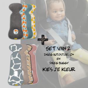 SET | Aeromoov Inleg Autostoel 0+ & Buggy