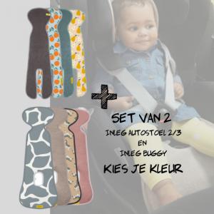SET   Aeromoov Inleg Autostoel 2/3 & Buggy