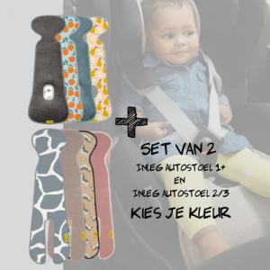 SET | Aeromoov Inleg Autostoel 1+ & Autostoel 2/3