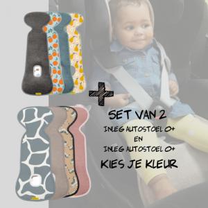 SET   Aeromoov Inleg Autostoel 0+ & Autostoel 0+