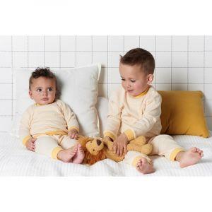 Set van 2 Feetje Pyjama's Wafel Yellow Maat 56 t/m 128